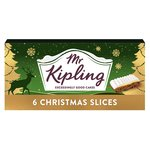Mr Kipling Christmas Slices