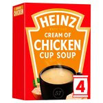 Heinz Cream of Chicken Cup Soup 4 Sachets