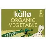Kallo Organic Vegetable Stock Cubes 8s