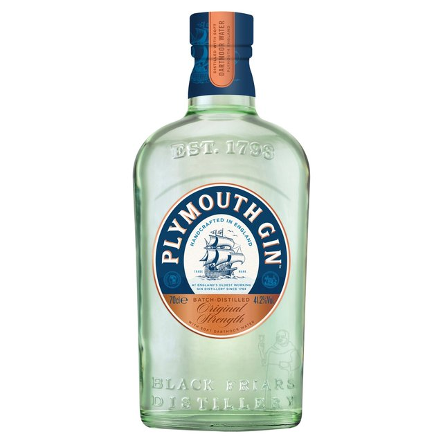 Morrisons Plymouth Gin 70cl Product Information