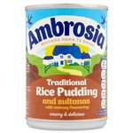 Ambrosia Traditional Rice Pudding and Sultanas with Nutmeg