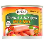 Grace Halal Hot & Spicy Vienna Sausages (200g)