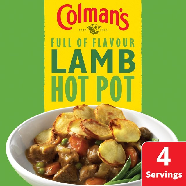 Colman's Lamb Hotpot Recipe Mix