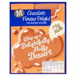 Morrisons No Added Sugar Chocolate Flavour Delight