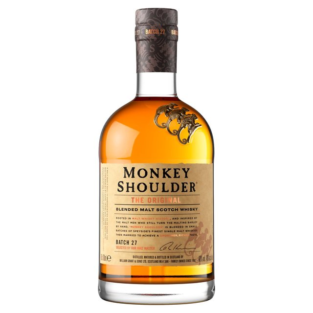 Monkey Shoulder Blended Malt Whisky