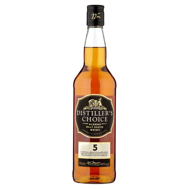 M Best Distillers Choice 5 Year Old Malt Whisky