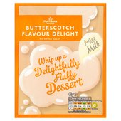 Morrisons Butterscotch Flavour Delight