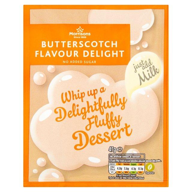 Morrisons Butterscotch Flavour Delight