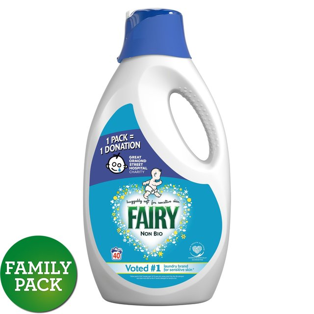 Fairy non bio washing powder deals