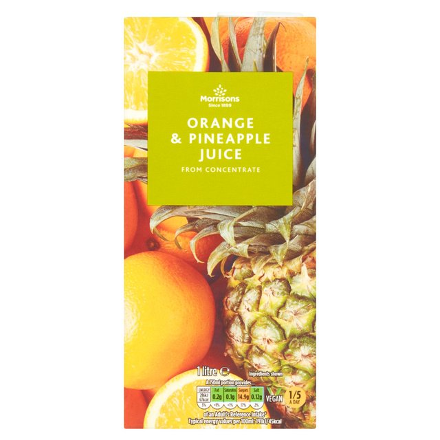 Morrisons Orange & Pineapple Juice