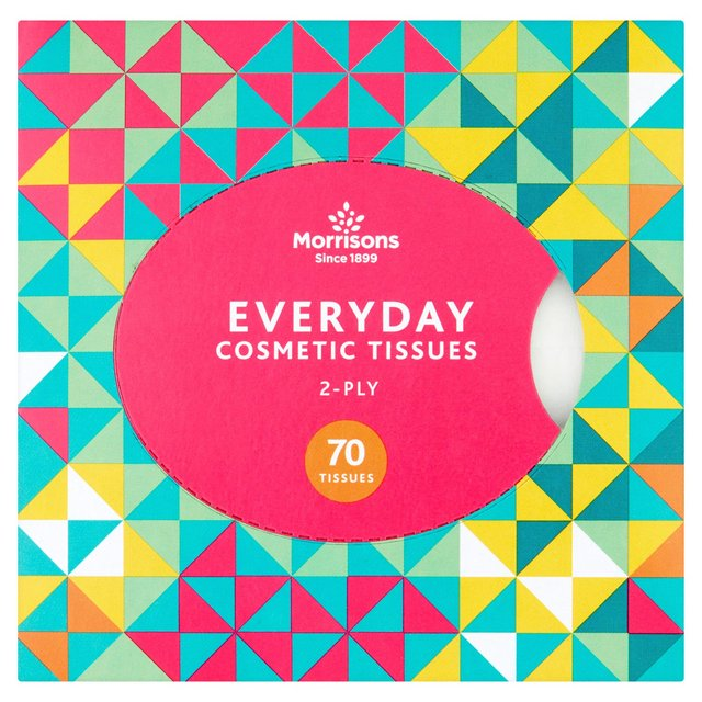 Morrisons 2Ply   Cosmetic Facial  Tissues