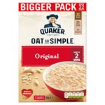 Quaker Oat So Simple Original Porridge 22x27g