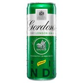 Gordons Gin & Schweppes Tonic, Delivered Chilled
