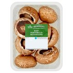 Morrisons Baby Portobello Mushrooms