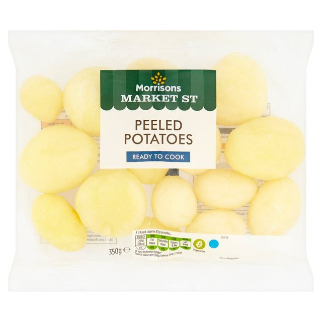 Morrisons Ingredients Peeled Potatoes