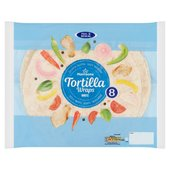 Morrisons Plain Tortilla Wraps