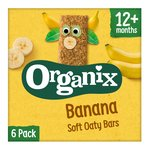 Organix Banana Soft Oaty Bars