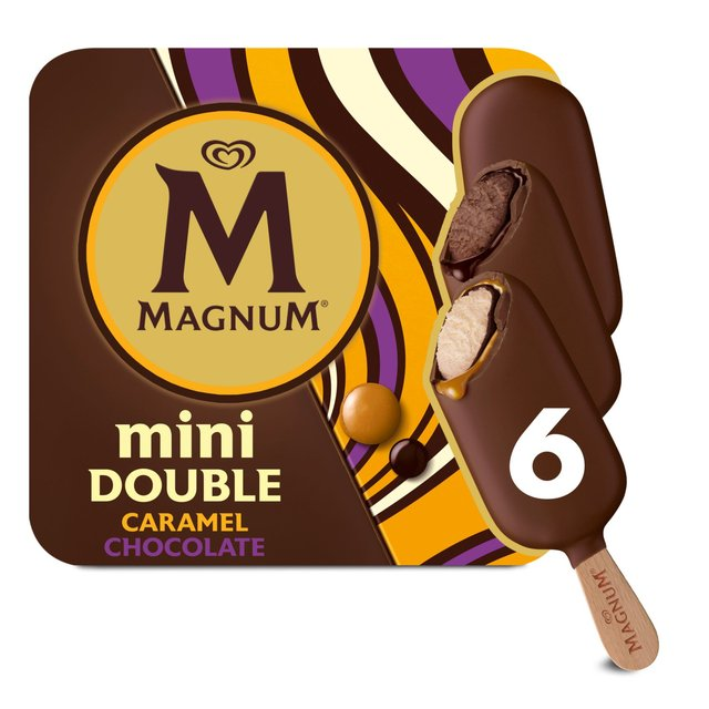 Magnum Mini Double Caramel Ice Cream Sticks