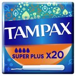 Tampax Super Plus Tampons Applicator