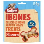 Bakers Dog Treat Chicken Mini Bones