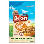 Bakers Complete Small Dog Food Chicken and Vegetables