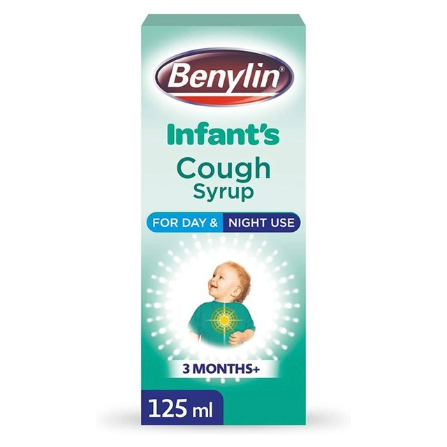 Morrisons Benylin Childrens Cough Syrup Apple 125ml
