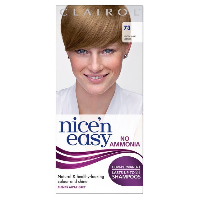 6b413fe78159 Morrisons  Nice n Easy Non-Permanent Hair Colour Medium Ash Blonde ...