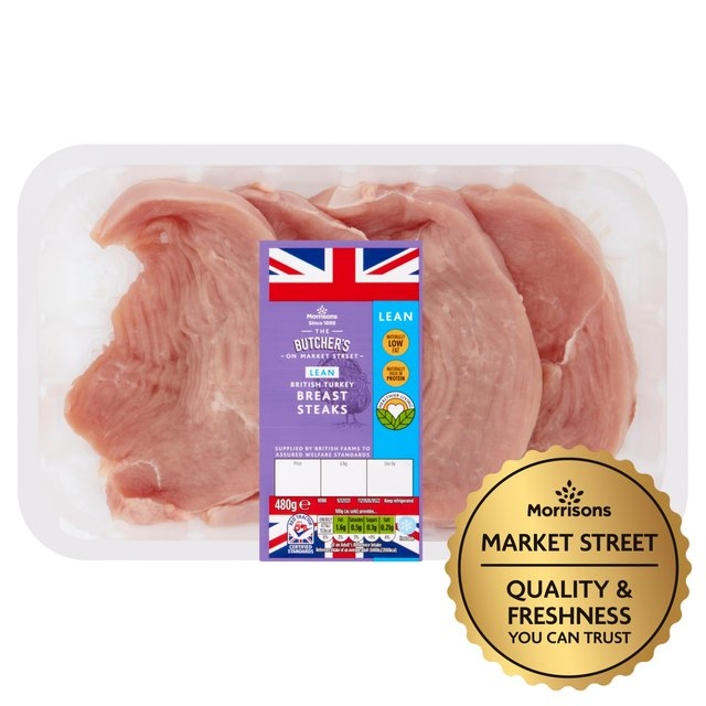 Morrisons British Turkey Breast Steaks