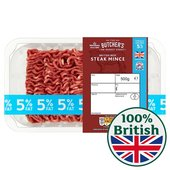 Morrisons British Beef Lean Mince 5% Fat
