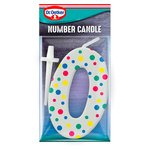 Dr. Oetker Number 0 Candle