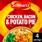 Schwartz Chicken Bacon & Potato Pie