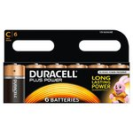 Duracell Plus Power C Alkaline Batteries