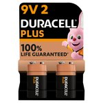 Duracell Plus Power 9V Alkaline Batteries