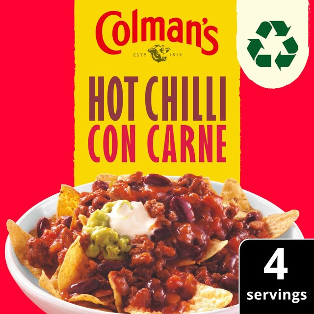 Colman's Hot Chilli Con Carne Recipe Mix