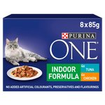 Purina One Indoor Cat Food Tuna and Chicken