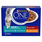 Purina One Senior Cat Food Chkn and Beef