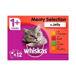 Whiskas Complete Meat Selection in Jelly Pouch