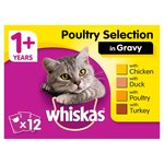 Whiskas Pouch Poultry Selection