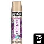 Impulse Body Spray Be Suprised