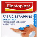 Elastoplast Extra Sticky Fabric Strapping 2.5cm x 3m