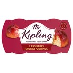 Mr. Kipling Exceedingly Good Raspberry Sponge Puddings