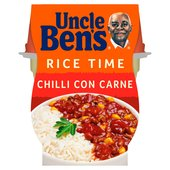 Uncle Bens Rice Time Chilli Con Carne Ready Meal Pot