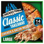 Chicago Town Large Takeaway Chicken & Bacon Pizza