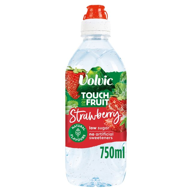 Morrisons: Volvic Touch Of Fruit Strawberry 750ml(Product ...