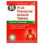 Morrisons Fruit Flavoured Antacid Tablets