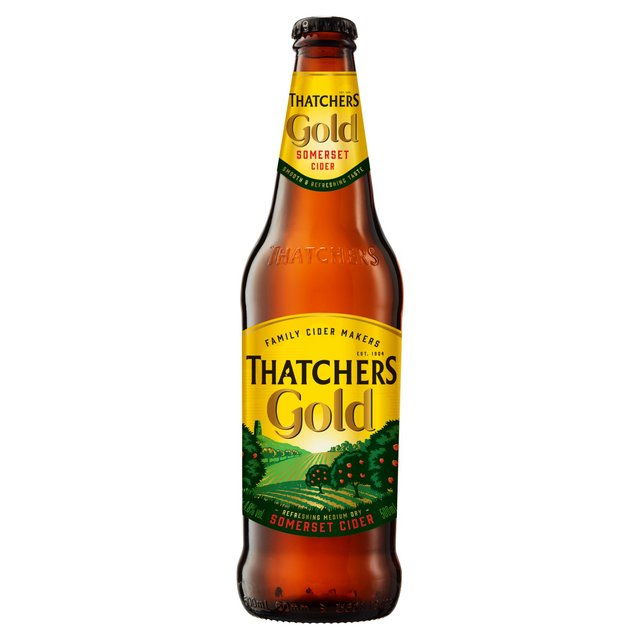 Thatchers Gold. Delivered Chilled