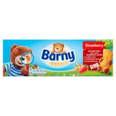 Barny Strawberry Sponge Bear Biscuits 5 Pack