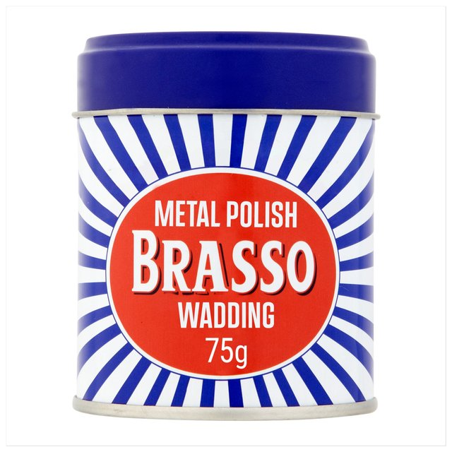Brasso On Glass