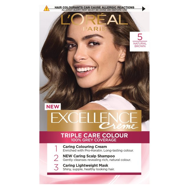 Morrisons L Oreal Excellence Creme Natural Brown 5
