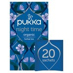 Pukka Night Time, Organic Herbal Tea with Valerian, 20 Sachets